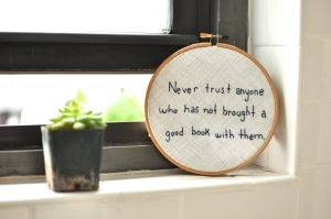 Liberties Press - Never trust anyone who has not brought a good book with them
