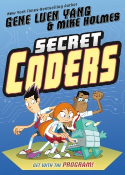 SECRET CODERS cover (GET WITH THE PROGRAM!)