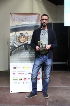 Javi Rey Best New Author Award for INTEMPERIE (Barcelona Comics Festival 2017)