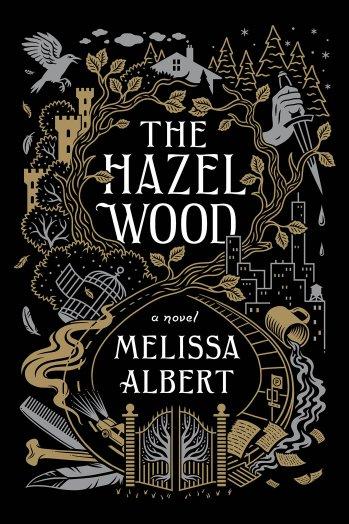 The HAZEL WOOD US cover