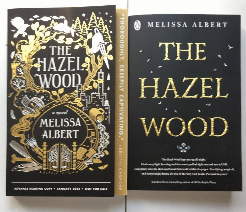 HAZEL WOOD US & UK book proofs