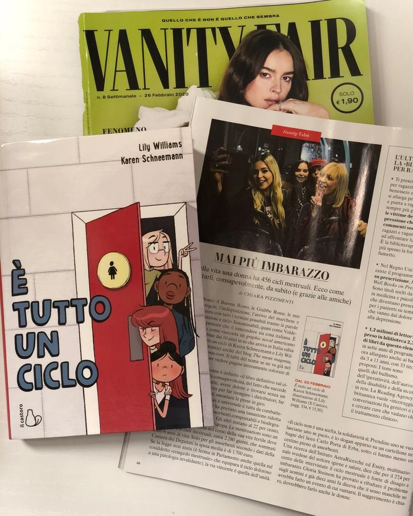 GO WITH THE FLOW Vanity Fair Italy